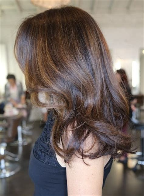 brunette hair highlights popular haircuts