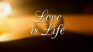 Love Is Life Quotes HD wallpaper
