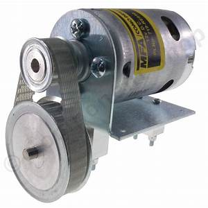 800 12v Dc Motor With 2 1 1 Belt Reduction Drive Mfa