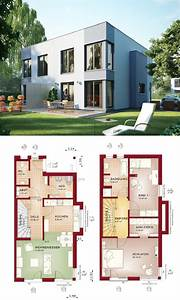 Bauhaus Bungalow Fertighaus : minimalistisches doppelhaus mit flachdach haus celebration 110 v8 l bien zenker modernes ~ Sanjose-hotels-ca.com Haus und Dekorationen