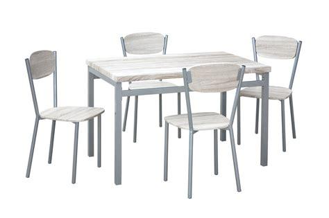 table chaise contemporaine pas cher