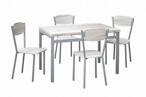 Table De Cuisine Et Chaises : table et chaises de cuisine chez conforama digpres ~ Teatrodelosmanantiales.com Idées de Décoration