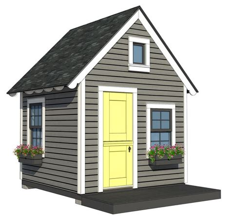 8x8 Shed Plans With Loft pin by gomez on playhouses and playhouse plans by a