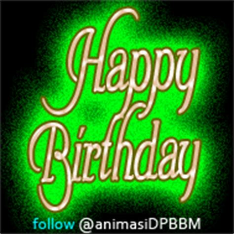 DP BBM Happy Birthday Bergerak buat Anak Kochie Frog