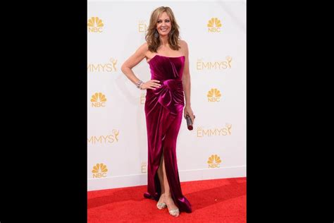 allison janney house of cards syd wilder arrives at the 66th emmy awards television