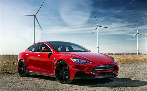 2015 Larte Design Tesla Model S Wallpaper