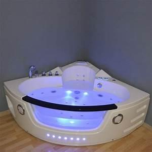 Baignoire Balnéo D Angle : baignoire balneo d 39 angle 140x140 nymphea serina design ~ Dailycaller-alerts.com Idées de Décoration