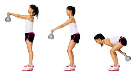 Russian Swing Kettlebell by Total Workout With 7 Kettlebell Exercises To
