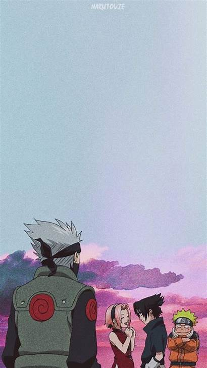 Naruto Anime Sasuke Kakashi Wallpapers 90s Team7