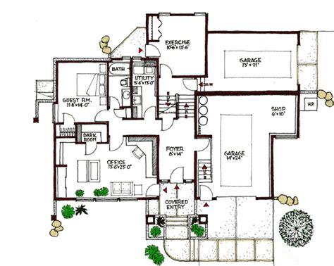 multi level home plans plan w16610gr contemporary multi level e architectural