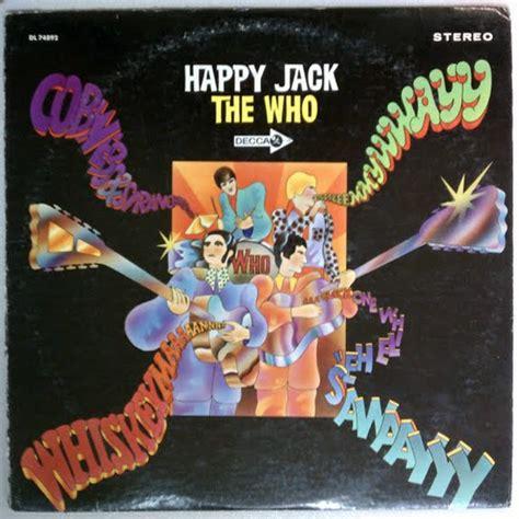 The Who - Happy Jack (1967, Pinckneyville Pressing, Vinyl ...