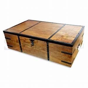 atlantic rustic wood trunk storage box coffee table buy With rustic wood coffee table with storage