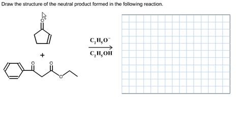 Draw The Structure Of The Neutral Product Formed I