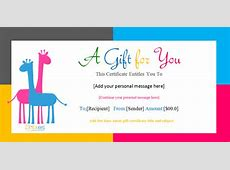 Gift Certificate Template Fotolipcom Rich image and