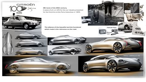 New Car Design : Student Creates Stunning Citroen Ds Design For The Year