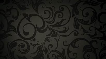 Pattern Dark Floral Swirl Wallpapers Background Pretty