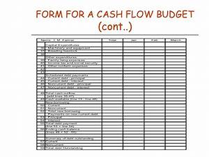 chapter 11cash flow budgeting With farm cash flow template
