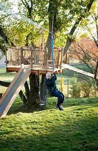 Cabane Exterieur Enfant : exterieur jardin deco cabane arbres enfants idees ~ Melissatoandfro.com Idées de Décoration
