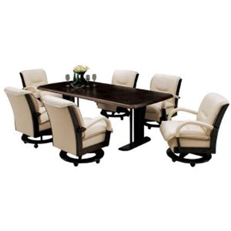 Dining Table Sets With Rolling Chairs by Things To Consider When Shopping Rolling Dining Room