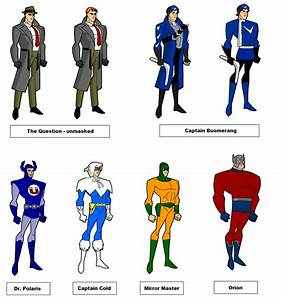 Justice League Unlimited- rare by fastferrari on DeviantArt