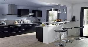 Cuisine En Bois Pas Cher : meuble cuisine equipee pas cher 14 cuisine en bois blanc rouge 238lot inox pour am233nager ~ Teatrodelosmanantiales.com Idées de Décoration