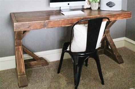woodworking desk plans