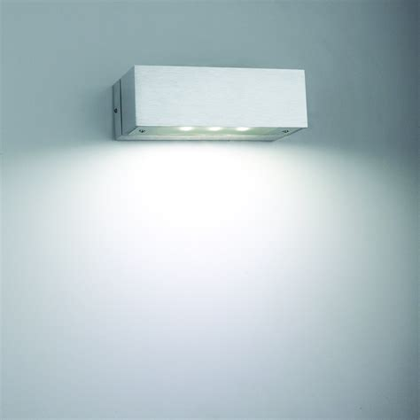6 1w aluminum indoor led wall light led wall l led wall