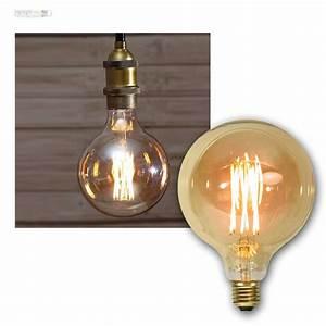 Glühlampe Als Lampe : e27 gl hlampe filament led nostalgie birne retro vintage spiral gl hbirne lampe ebay ~ Markanthonyermac.com Haus und Dekorationen