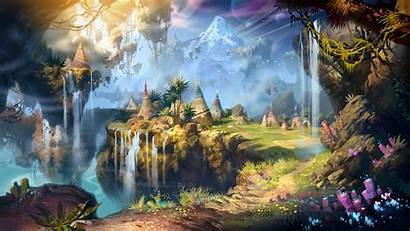 Fantasy Landscape Wallpapers Backgrounds Desktop Pixelstalk