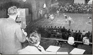 Image result for first televised basketball game was shown. The game featured Fordham University and the University of Pittsburgh