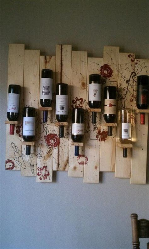 unique diy pallet wine rack ideas