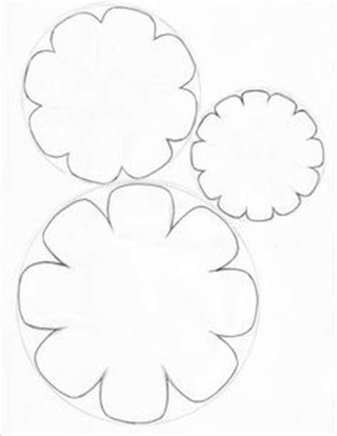 3d flower template paper flower templates cyberuse