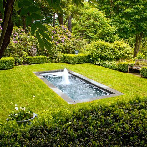 Magnificent Garden Formal Yet Inviting by 1000 Images About Water Features Fountains On
