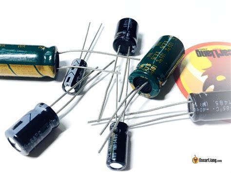 capacitors  noise filtering  mini quad oscar liang