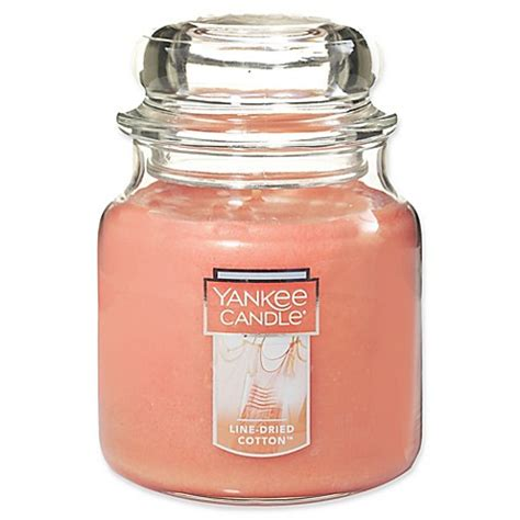 yankee candle country kitchen line buy yankee candle 174 line dried cotton medium jar candle 1978