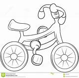Coloring Bicycle Pages Colouring Shower Baby sketch template