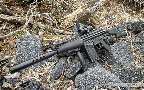 assault rifle full hd wallpaper  background image