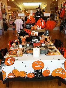 Children Party Table Halloween Decorations