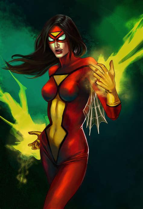 Spiderwoman By Schultzee On Deviantart