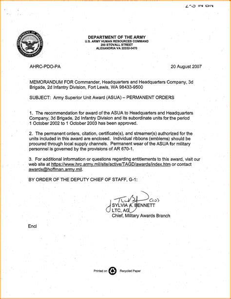 Army Memorandum Template 6 Memorandum For Record Army Card Authorization 2017