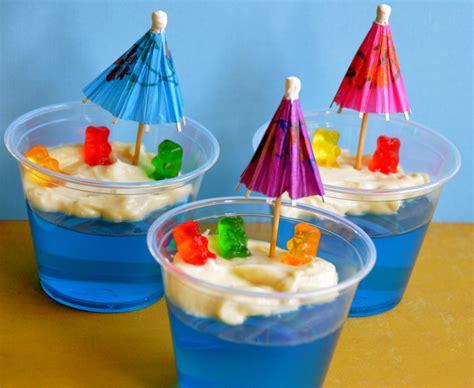 Blue Baby Shower Drink
