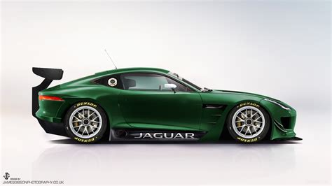 Could Jaguar's F-type Gt4 Racer Look Like This?