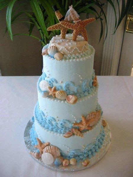 great ideas  beach wedding cakes wedding
