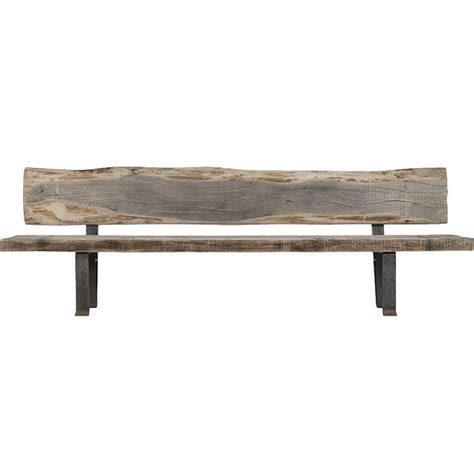 Recycled Wood Bench by Rustic Reclaimed Wood Bench Simplistic