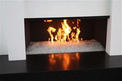 Natural gas, easy to install fireglass fireplaces.