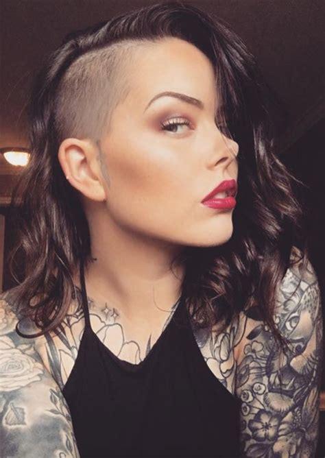 51 long undercut hairstyles for women in 2019 diy