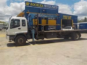 1999 Isuzu Fvr Manual Crane Truck - Jthfd5041835