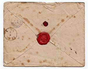 old letter red wax seal throwback pinterest stamps With old letter stamp