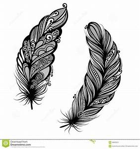 Signification Plume Noire : oiseau abstrait de plume illustration de vecteur image 38920257 inspiration and ideas ~ Carolinahurricanesstore.com Idées de Décoration