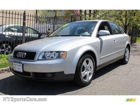 2003 Audi A4 30 Quattro Sedan In Light Silver Metallic